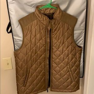 Johnston and Murphy Diamond Quilted Vest for Men